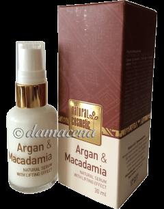 """Sérum """"Natural Cosmetic"""" Argan Macadamia"""